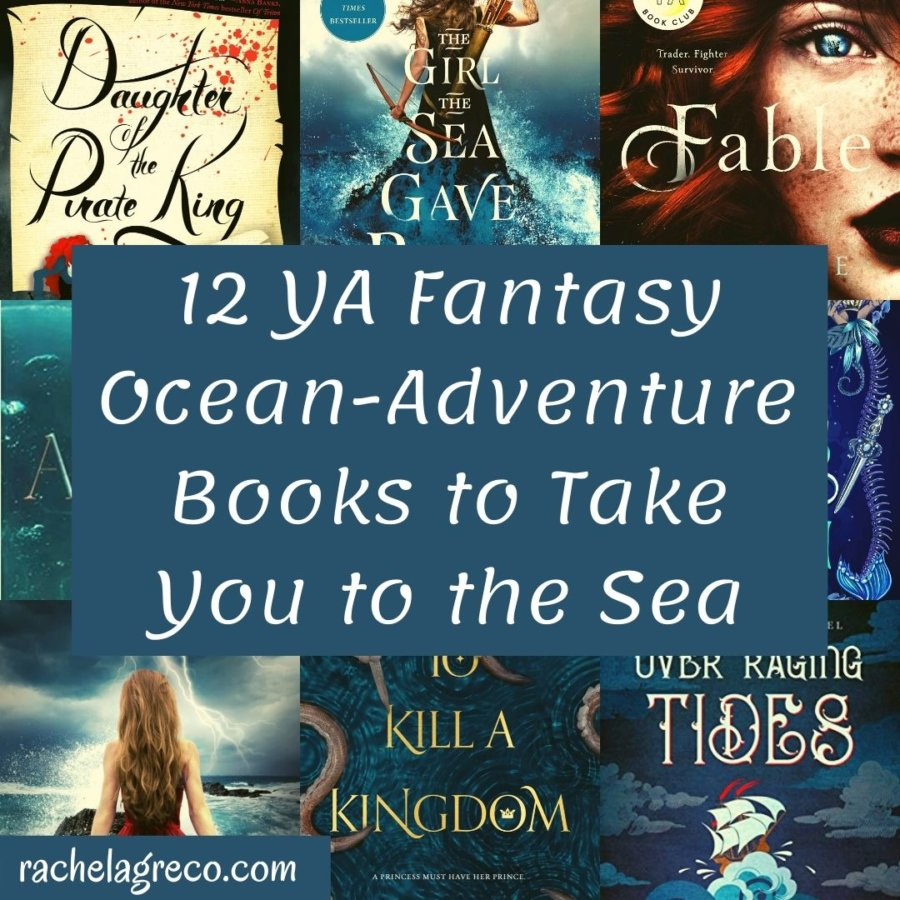 12 YA Fantasy Ocean-Adventure Books to Take You to the Sea This Summer