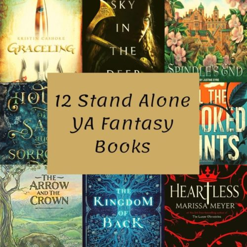 12 Stand Alone YA Fantasy Books