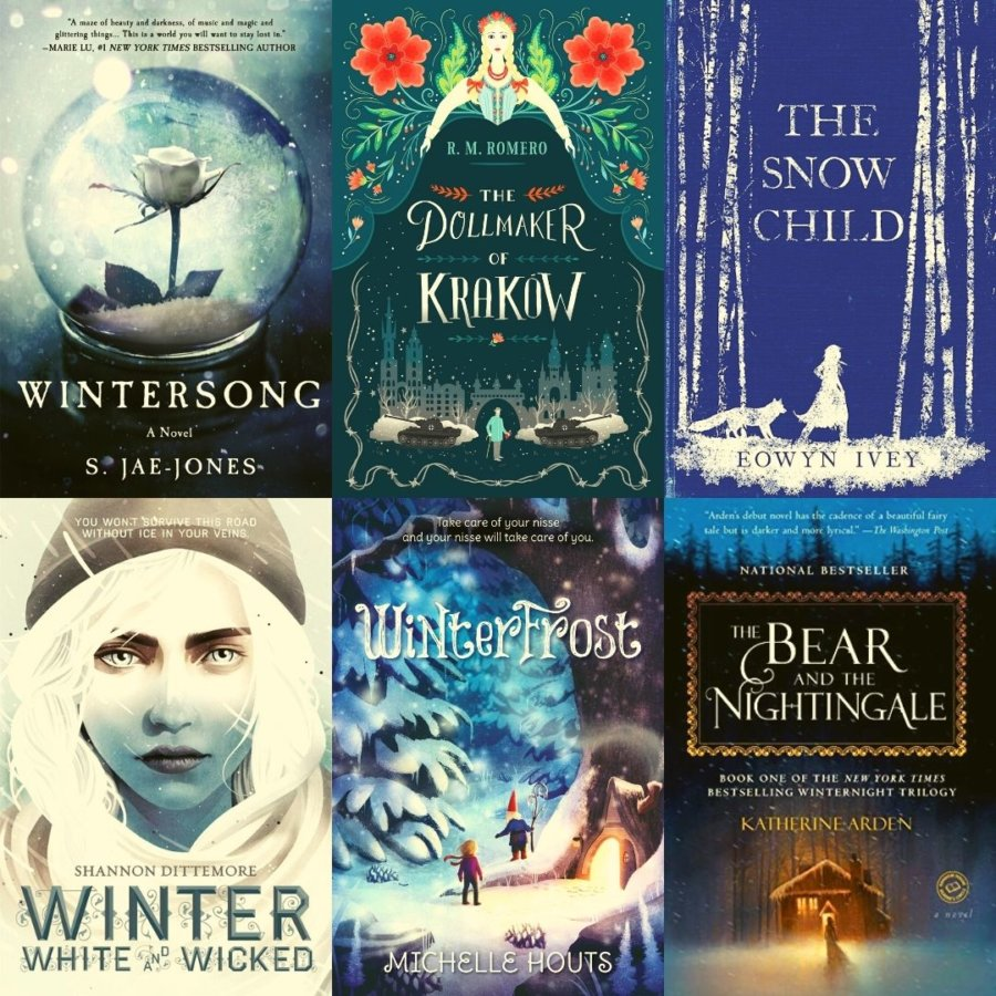 12 Winter Fantasy Books for Middle Grade, YA, and Adult Readers