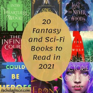 Read more about the article 20 Fantasy and Sci-Fi Books to Read in 2021