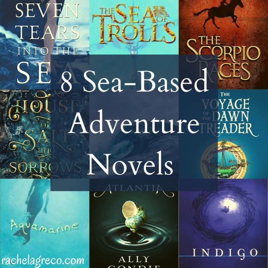 8 Sea-Based Adventure Books