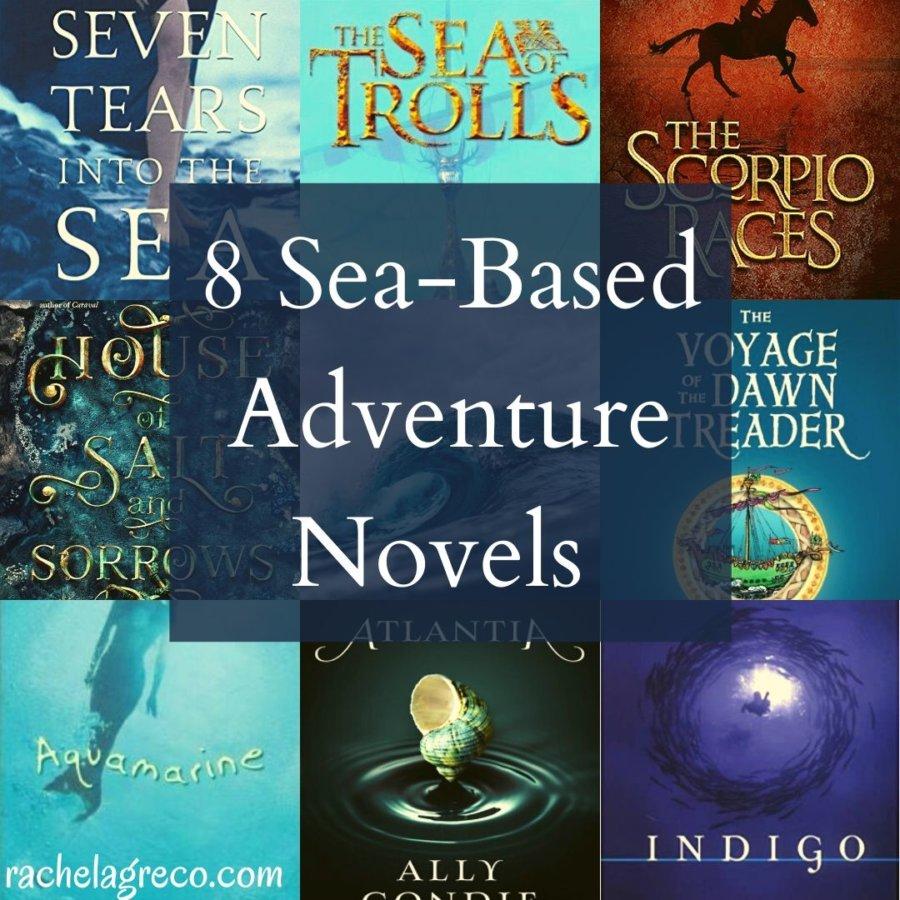 8 Sea-Based Adventure Books