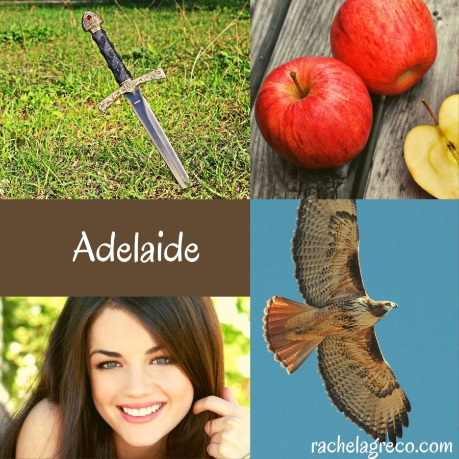 Character Interview: Adelaide in The Gift of Dragons