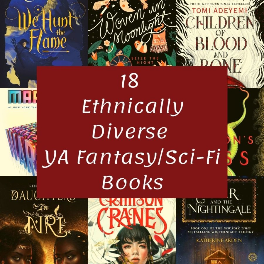 18 Ethnically Diverse YA Fantasy and Sci-Fi Books