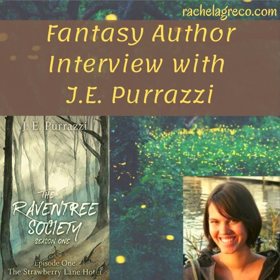 Fantasy Author Interview: J.E. Purrazzi