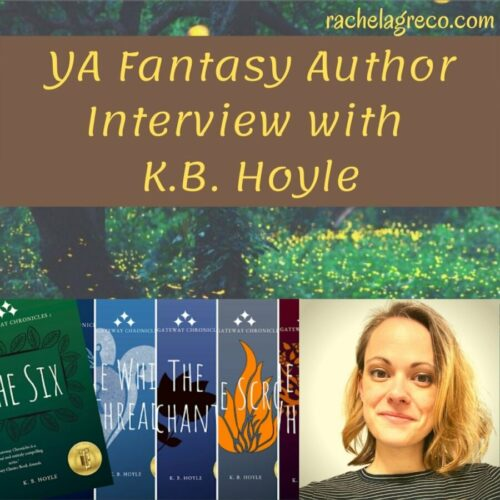 Read more about the article YA Fantasy Author Interview: K.B. Hoyle
